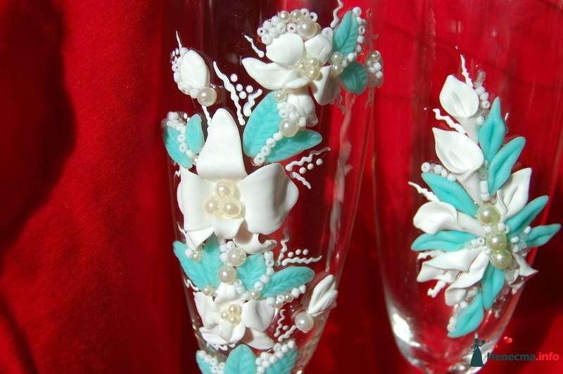 Фото 107120 в коллекции Свадебные бокалы - Невеста01