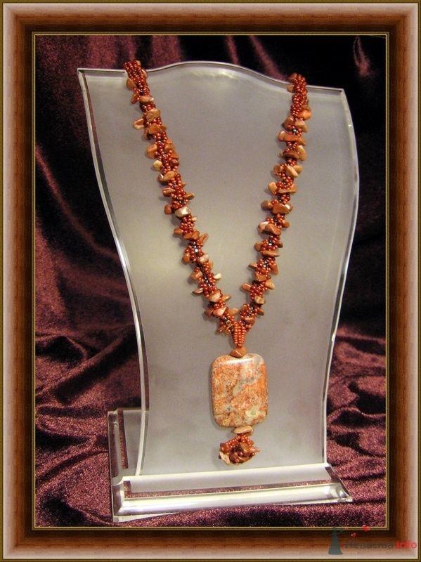 Сколы и камень Яшма(натуральные) Бисер Чехия - фото 79293 Невеста01