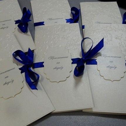 Приглашения на свадьбу ручной работы с конвертом и вкладышем для текста