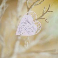 сердечки для дерева пожеланий
