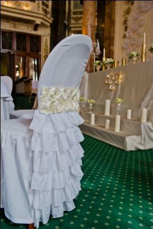 декор стула на свадьбу