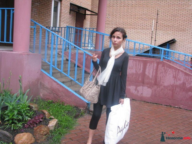 в день покупки платья :)