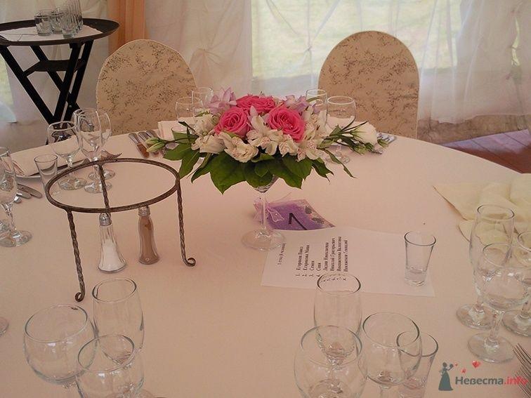 Фото 38703 в коллекции Украшение банкетного зала цветами