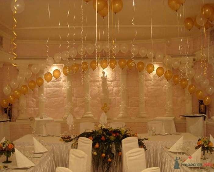 Фото 38706 в коллекции Украшение банкетного зала воздушными шарами - Дизайн-студия «Art-Infinity»