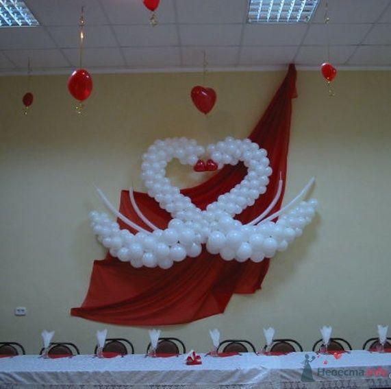 Фото 54460 в коллекции Украшение банкетного зала воздушными шарами - Дизайн-студия «Art-Infinity»