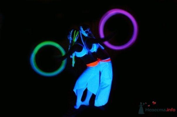 светодиодное и флюоресцентное шоу ЗМЕЙ_РАДУГА - фото 78984 Наталия Ведущая