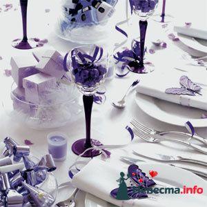 бабочки и бокальчики - фото 84364 Невеста01