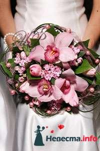 Фото 80754 в коллекции Образцы свадебных букетов - Цветочный Рай - флористы