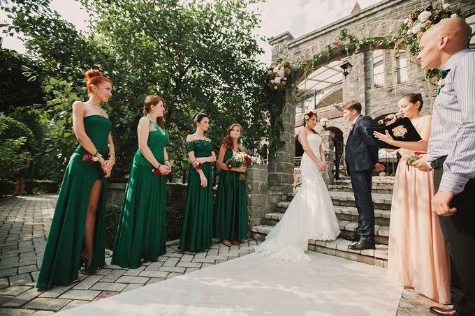 Салатовые свадьбы фото