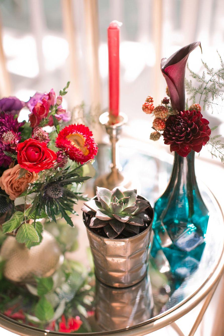 """Фото 15750794 в коллекции Свадьба Лали и Саши - """"Люблю, целую.."""" - студия флористики и декора"""