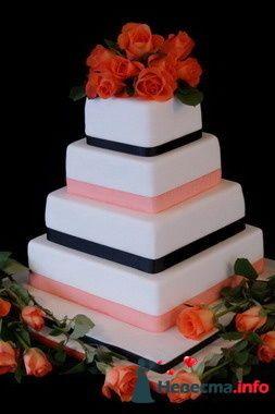 Фото 84815 в коллекции Торты - Свадебный распорядитель. Яна