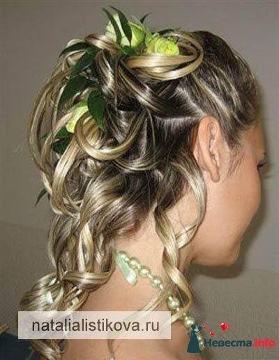 Фото 233787 в коллекции Свадебные прически - Свадебный стилист Листикова Наталия