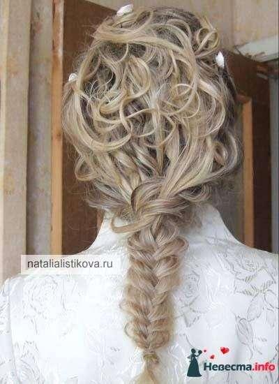 Фото 233792 в коллекции Свадебные прически - Свадебный стилист Листикова Наталия