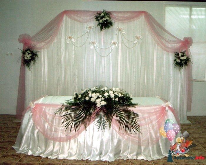 Свадебная скатерть - фото 83741 Студия Наталии Шелухиной - свадебное оформление