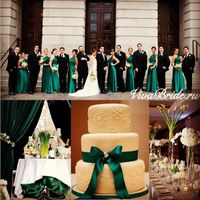 изумрудная свадьба, зеленая свадьба