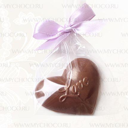 """Бонбоньерки для гостей - сердце """"Love"""""""