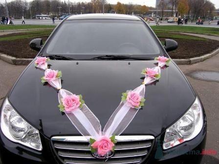 Ленты на капот декоративные  - фото 5593 Свадебный интернет-магазин Moscow-Wedding