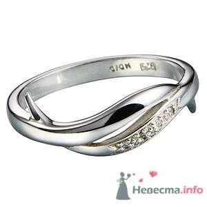 """Кольцо из серебра 925, вставка-бриллиант - фото 5770 Ювелирный магазин """"ИнтерГолд"""""""