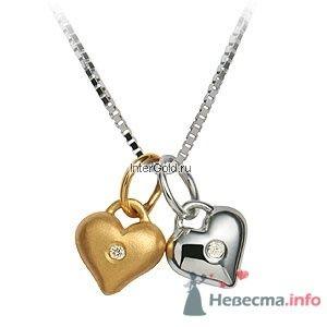 """Колье из золота 375 пробы, вставка - бриллиант - фото 5779 Ювелирный магазин """"ИнтерГолд"""""""