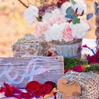 Греческая свадьба для Насти и Саши. п-ов Закинтос. Декор зоны банкета
