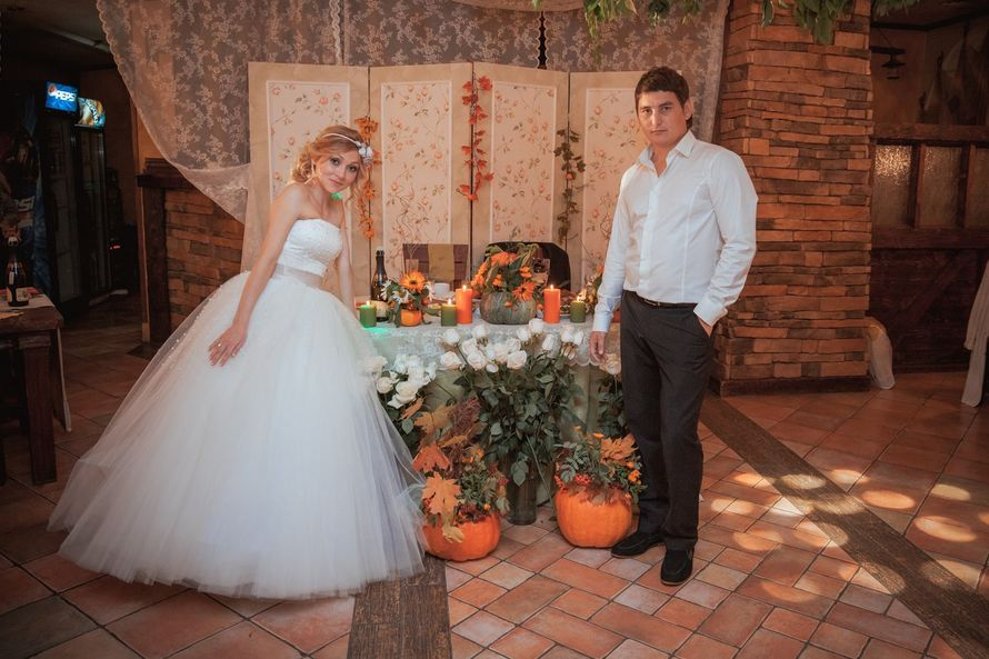 Фото 2026594 в коллекции Тыквенная осенняя свадьба Дилары и Дениса 21 сентября 2013г - Свадебное агентство All Inclusive