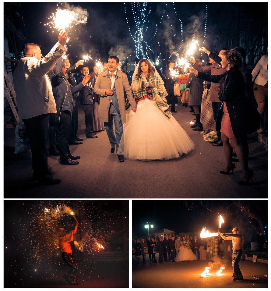 Проводы новобрачных и фаер-шоу - фото 2343244 Свадебное агентство All Inclusive