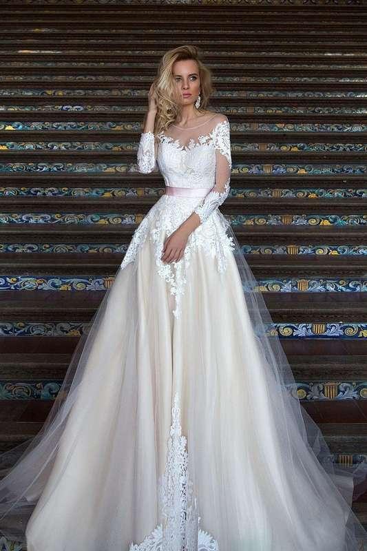"""Свадебное платье MIREY   В наличии с изменением кружева на максимально похожее. - фото 16782588 Свадебный салон """"Vesta - Bride"""""""