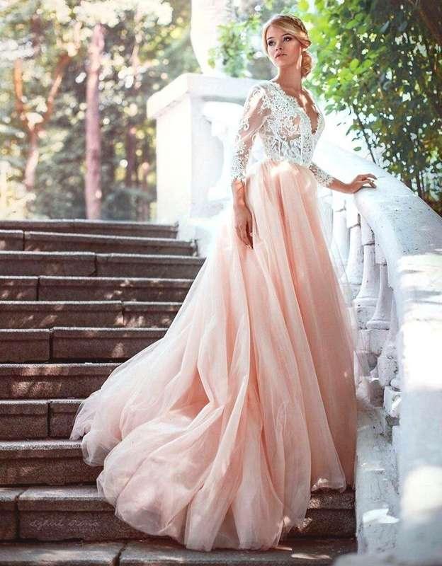 """Свадебное платье  РОЗЕЛЬ   Цвет: пудра - фото 16782600 Свадебный салон """"Vesta - Bride"""""""