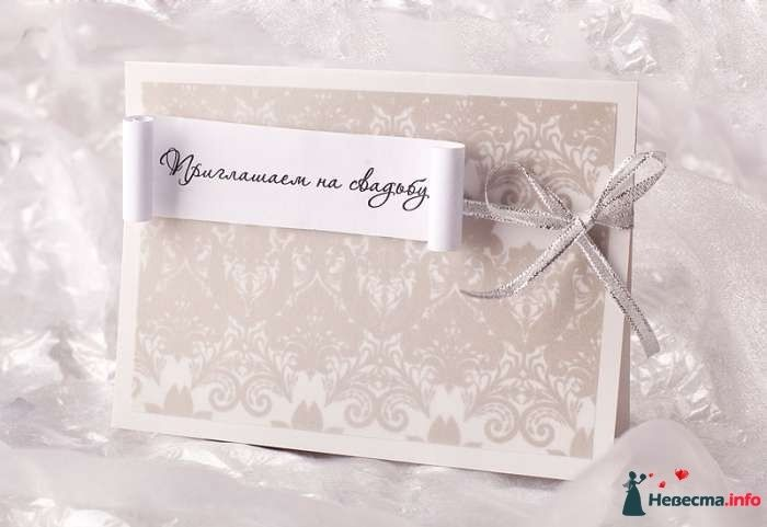 Приглашения на свадьбу - фото 88815 Лизавета
