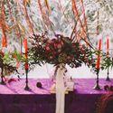 Украшение стола в богемном стиле