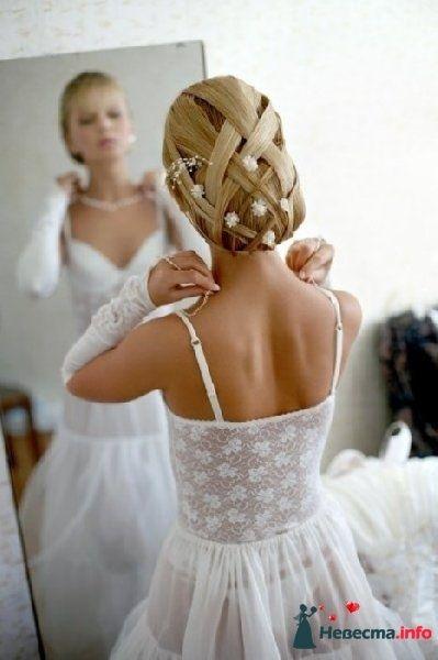 Фото 92209 в коллекции Свадебная прическа.
