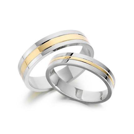 Обручальные кольца из комбинированного золота на заказ