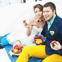 Ягодный зимний пикник Ани и Ильи!