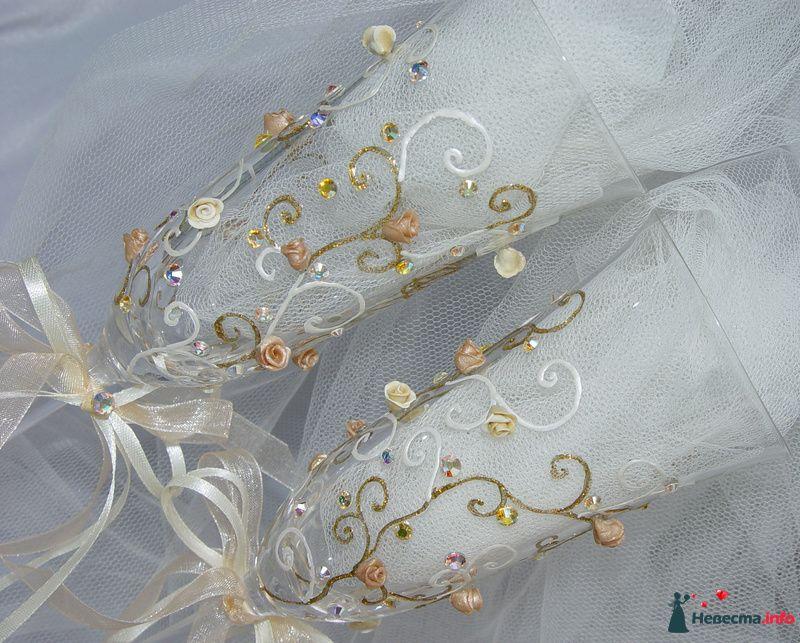 """Фото 111538 в коллекции Мои фотографии - """"Aнютa"""" - свадебные бокалы и аксессуары"""