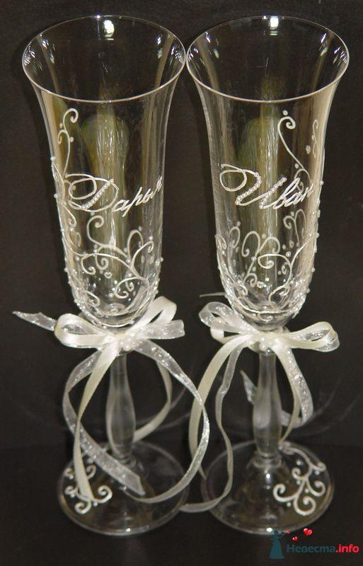 """Фото 111543 в коллекции Мои фото - """"Aнютa"""" - свадебные бокалы и аксессуары"""