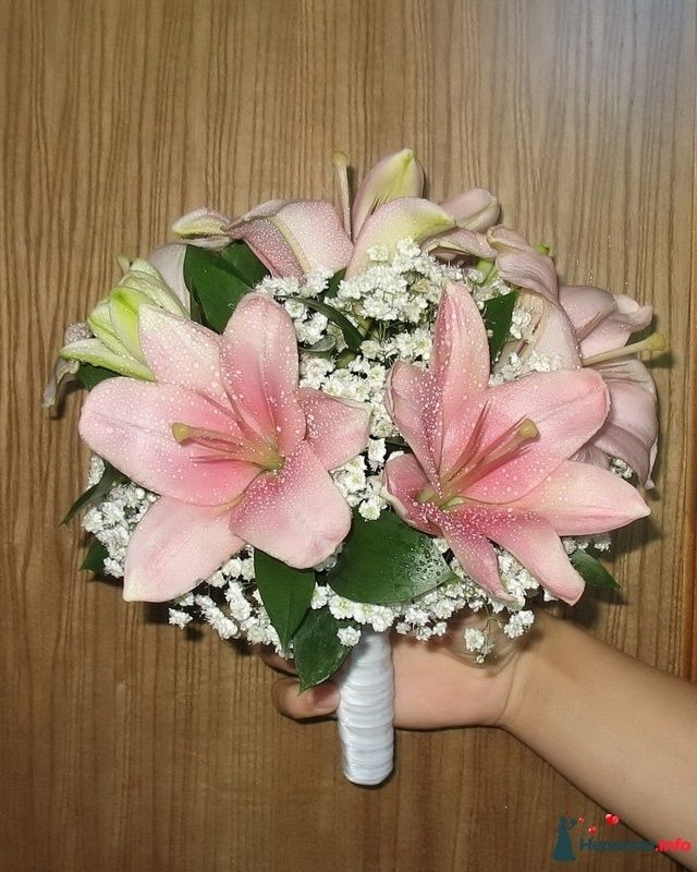 Фото 110687 в коллекции Любимые лилии - свадебные букетики