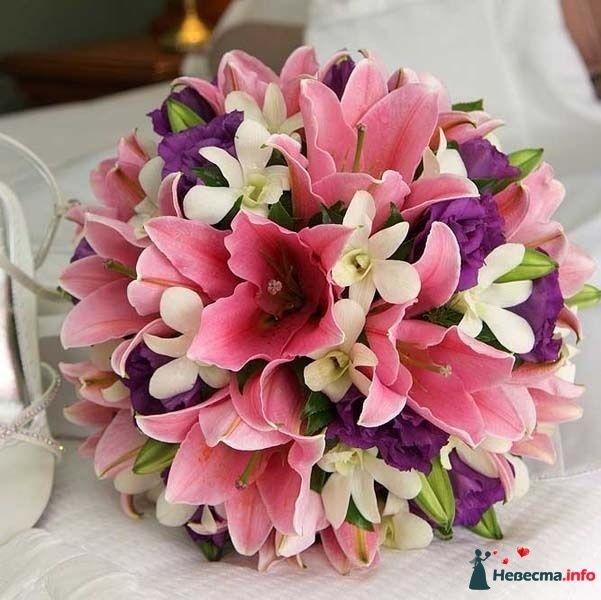 Фото 110688 в коллекции Любимые лилии - свадебные букетики