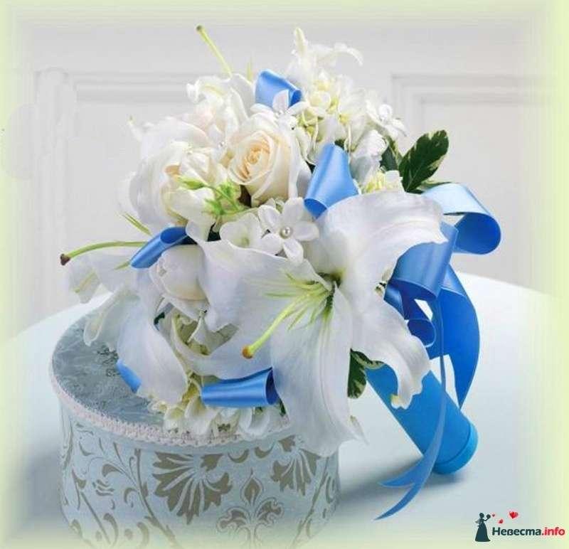 Фото 110701 в коллекции Любимые лилии - свадебные букетики - kosca