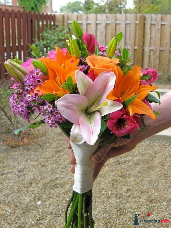Фото 118649 в коллекции Любимые лилии - свадебные букетики - kosca