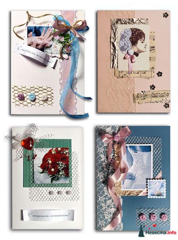 свадебные (и не только) открытки ручной работы - фото 93233 Lena N