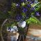 Букет невесты из лаванды и колокольчиков в стиле Прованс