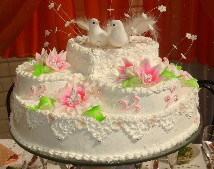 Фото 784707 в коллекции Свадебный торт- красивый десерт любого торжества!!! - Идеальная Свадьба - свадебное агентство