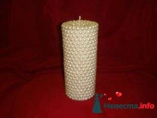 Свеча жемчужная - фото 94972 помошь невестам