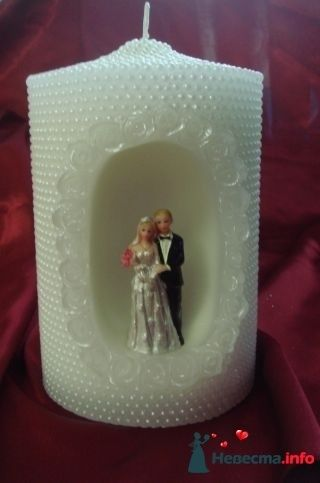 Свеча Жених и невеста - фото 94973 помошь невестам