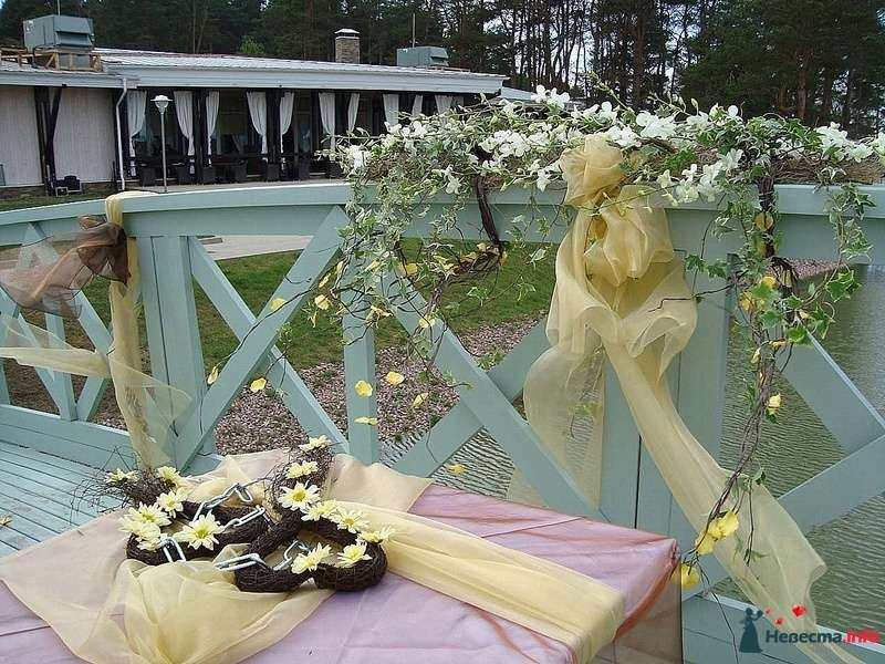 Фото 105049 в коллекции Декор свадебной церемонии. - Флорист-декоратор Янина Венгерова