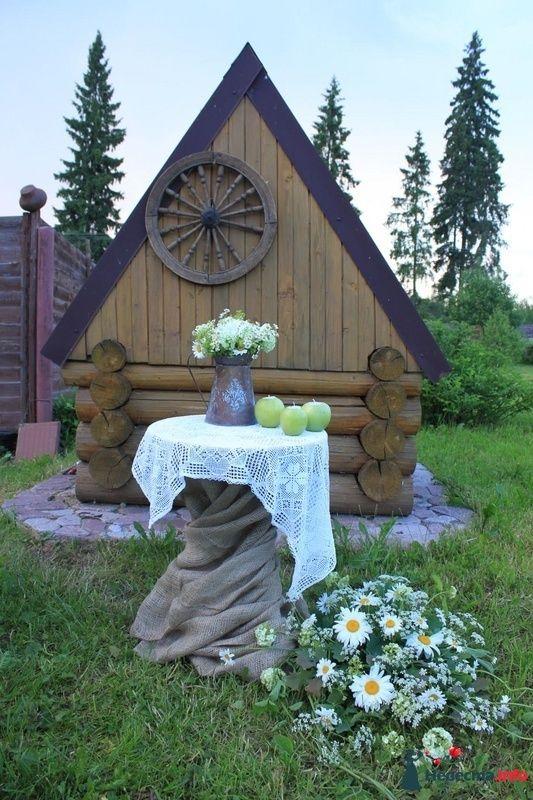 ромашковая свадьба - фото 107378 Флорист-декоратор Янина Венгерова