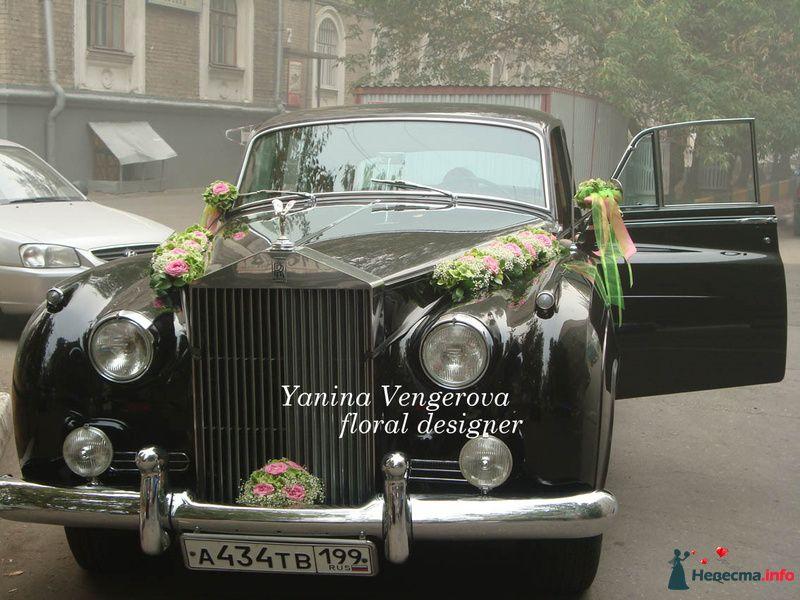 Фото 131675 в коллекции Оформление авто - Флорист-декоратор Янина Венгерова