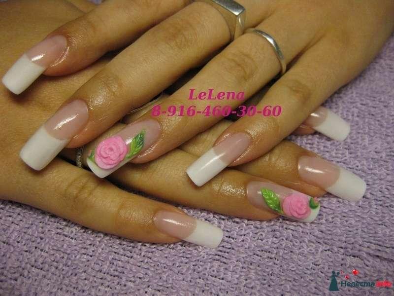 Фото 96454 в коллекции Мои фотографии - LeLena - свадебное наращивание ногтей