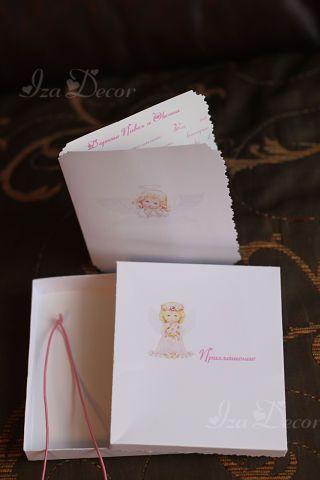 Фото 846827 в коллекции Свадебные пригласительные - IzaDecor  - дизайнерские приглашения на свадьбу