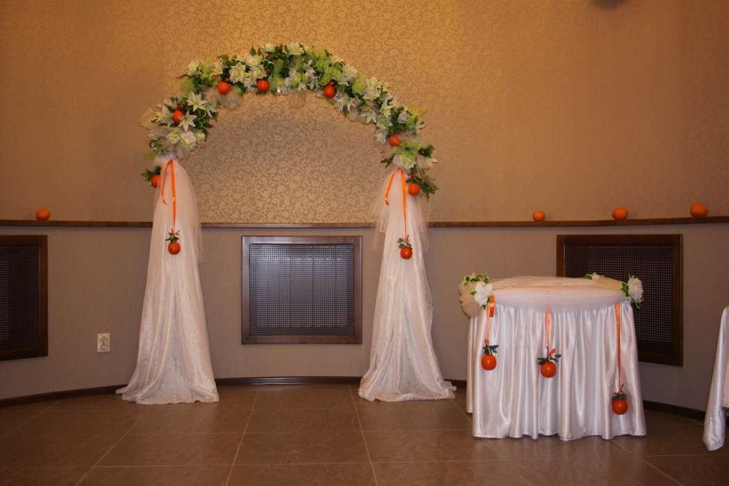 """арка для выездной регистрации - фото 891289 Магазин-салон """"Свадебный декор"""" - оформление"""